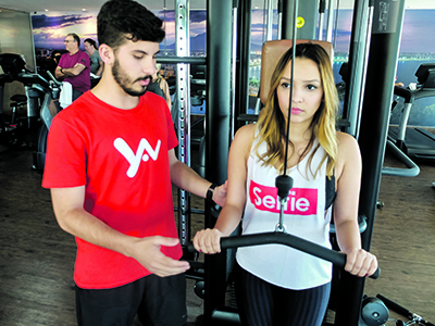 Yan personal trainer